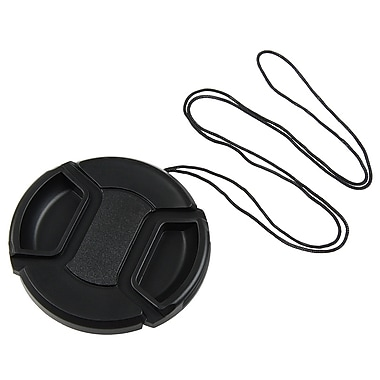 Insten® Camera Lens Cap For 58 mm Filter/Adapter/Lens, Black