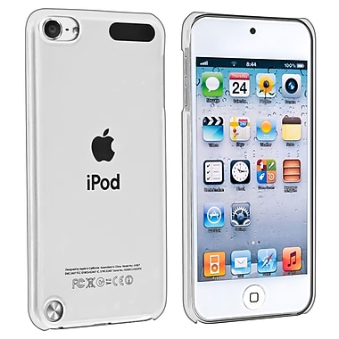 Insten® Snap-in Crytsal Case For iPod Touch 5th Gen, Clear Rear (DAPPTOU5COC1)