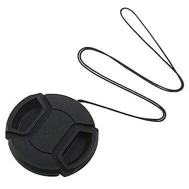 Insten® Camera Lens Cap For 52 mm Filter/Adapter/Lens, Black (BOTHLENSCAP2)