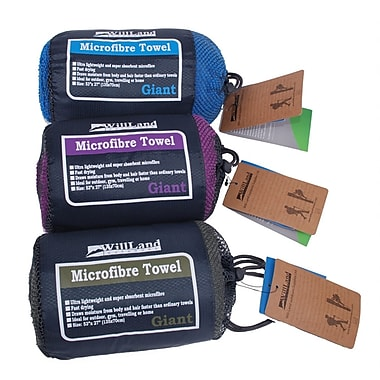 WillLand Outdoors Microfibre Travel Towels