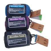 WillLand Outdoors - Serviettes de voyage en microfibre
