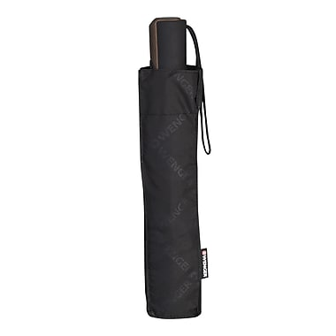 Wenger® Automatic Open & Close Telescopic Umbrella, Black