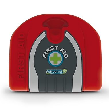 Astroplast Soft Travel Pouch First Aid Kit, Red