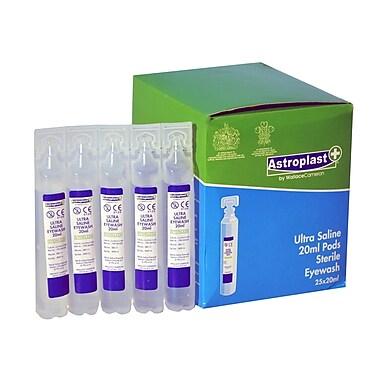 Astroplast Saline Eyewash Pods, 20mL, 25/Pack