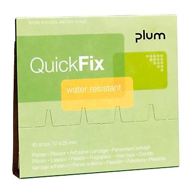 Plum – Recharge de pansements adhésifs étanches pour distributeur mural, paq./45 pansements