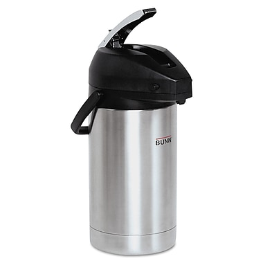 Bunn® 3 Liter Stainless Steel Lever-Action Airpot