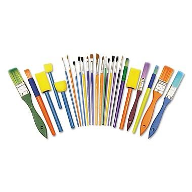 Chenille Kraft Creativity Street Starter Brush, 25/Pack (5180)