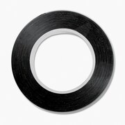 "Cosco 98077 Black Tape, 0.13"" x 324"""