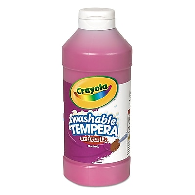 Crayola Artista II Non-toxic 16 oz. Tempera Paint (543115069)