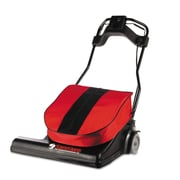 Electrolux Sanitaire® SC6093, Wide Area Motorized Sweeper Vacuum Cleaner, Red
