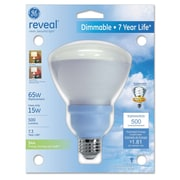 GE® 15 Watts R30 Self-Ballasted Compact Fluorescent Bulb