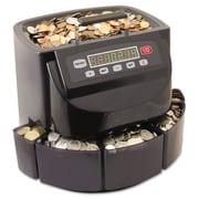 MMF® SteelMaster® Coin Counter/Sorter, Black