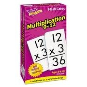 "Trend® Math Flash Cards, Multiplication 0 - 12 Skill, 3"" x 5 7/8"""