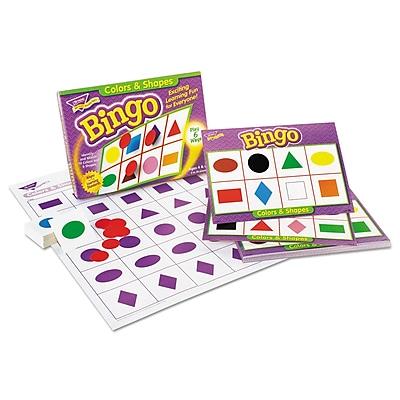 Trend Enterprises® Colors and Shapes Bingo Game, Grade Prek-2