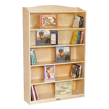 6 Shelf Bookcase-60