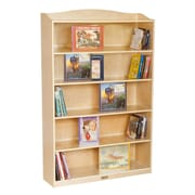 "6 Shelf Bookcase-60""H"