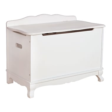 Classic White Toy Box