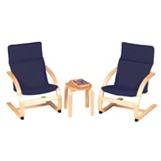 Kiddie Rocker Chair Set, Blue