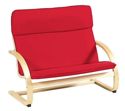 Kiddie Rocker Couch, Red