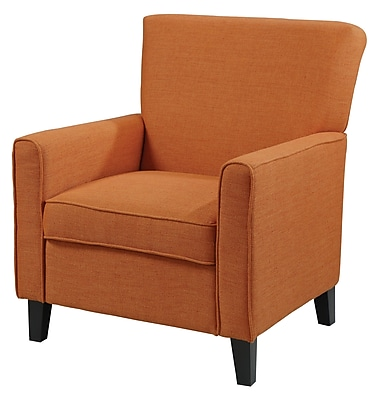 COASTER Accent Seating Fabric Accent Chair, Orange (902094)