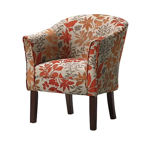 Coaster Accent Seating Fabric Barrel Accent Chair Multi 460407