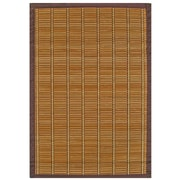 "Anji Mountain Bamboo Rug Bamboo 2"" x 3"" Brown (AMB0020-0023)"