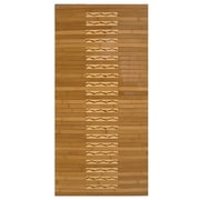 "Anji Mountain Kitchen & Bath Mat Bamboo 20"" x 48"" Brown (AMB0090-2048)"