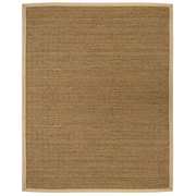 Anji Mountain Saddleback Tan Area Rug Natural Fiber 4' x 6' Transitional (AMB0117-0046)