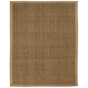 Anji Mountain Moray Tan Basket weave Area Rug Natural Fiber 8' x 10' Transitional (AMB0118-0810)