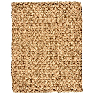 Anji Mountain Natural Handspun Panama Weve Area Rug Jute 8