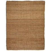 Anji Mountain River Sand Tan Jute & Hemp Area Rug Natural Fiber 9' x 12' Transitional (AMB0322-0912)
