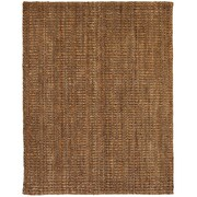 "Anji Mountain Mira Jute Rug Natural Fiber 8"" x 10"" Tan (AMB0323-0810)"