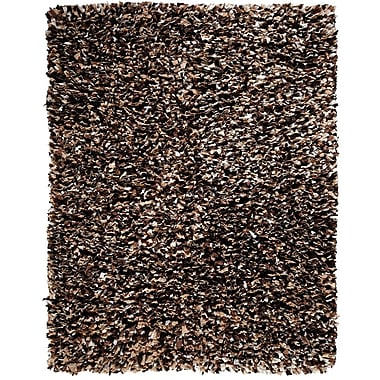 Anji Mountain Confetti Recycled Paper Shag Area Rug Viscose 5