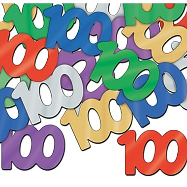 Silhouettes Fanci-Fetti « 100 », 5/paquet