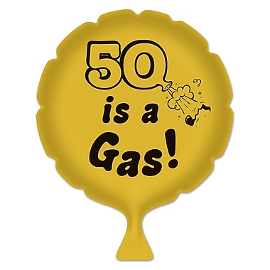 Coussin péteur « 50 is a gas! », 8 po, 4/paquet