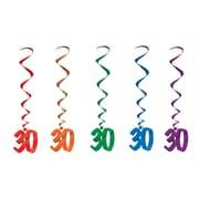 Tourbillons « 30 », 3 pi, 15/paquet