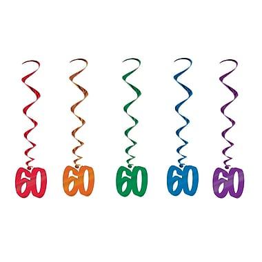 Tourbillons « 60 », 3 pi, 15/paquet
