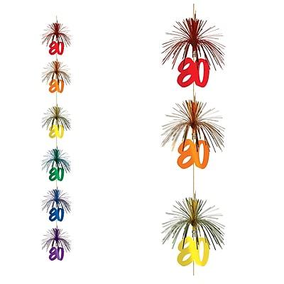 Beistle 7' 80 Firework Stringer, 3/Pack