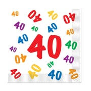 """40"" Luncheon Napkins, Luncheon, 48/Pack"