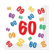 """60"" Luncheon Napkins, Luncheon, 48/Pack"