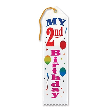 My 2nd Birthday Award Ribbon, 2