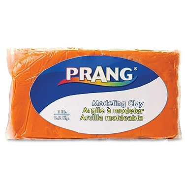 Prang® Fun Modeling Clay, 1 LB, Orange