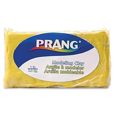Prang® Fun Modeling Clay, 1 LB, Yellow