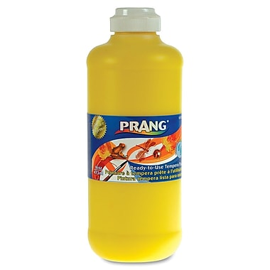 Prang® Washable Ready-To-Use Tempera Paint, 16 oz., Yellow