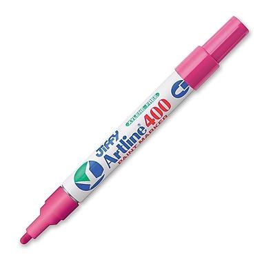 Jiffco® - Marqueur à peinture Artline, pointe moyenne, rose