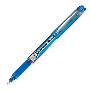 Pilot® Hi-Tecpoint V5 Grip Needle Point Rolling Ball Pen, 0.5 mm, Turquoise