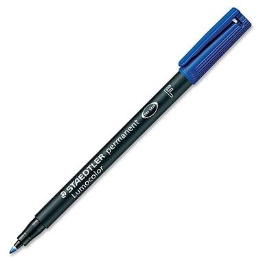 Staedlter® Lumocolor Permanent Marker, Fine Tip, Blue
