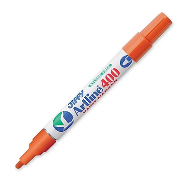 Jiffco® Artline Paint Marker, Medium Tip, Orange