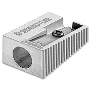 Staedlter® Single-Hole Metal Pencil Sharpener