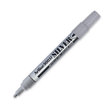 Jiffco® Metallic Ink Marker, Medium Tip, Silver